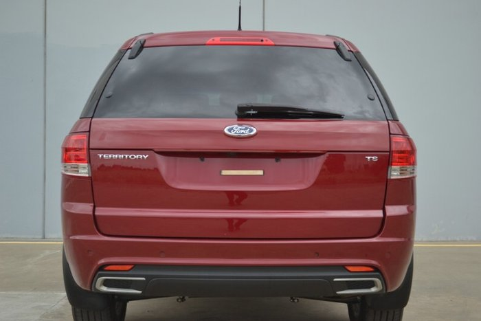 2015 Ford Territory TS SZ MkII EMPEROR RED