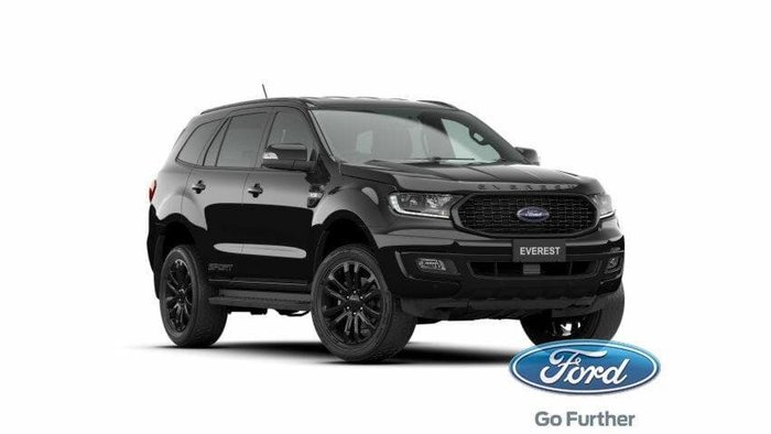 2020 Ford Everest Sport UA II MY21.25 Shadow Black