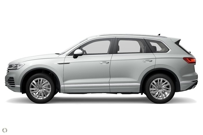 2020 Volkswagen Touareg 170TDI CR MY21 Four Wheel Drive White