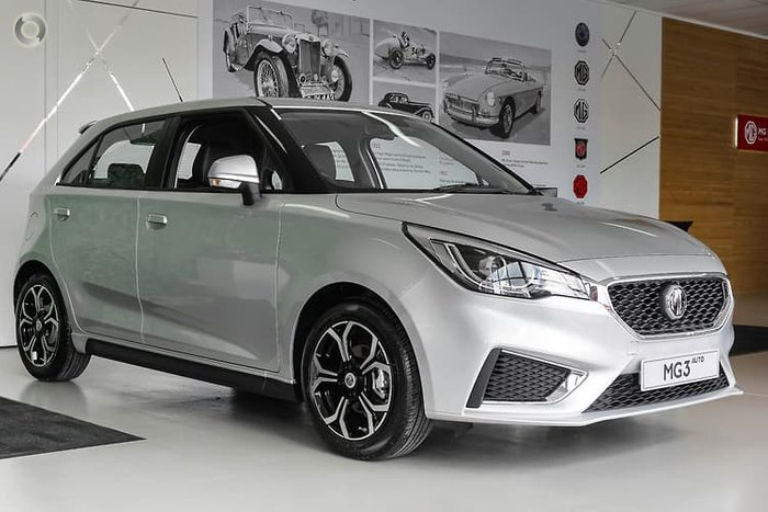 2020 MG MG3 Excite MY20 Scottish Silver