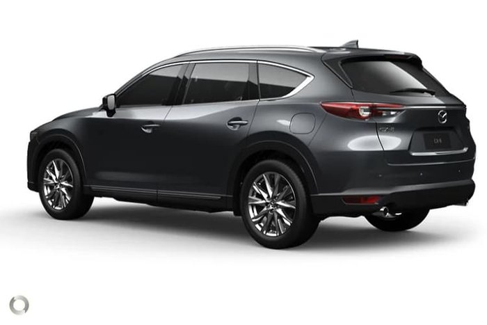 2020 Mazda CX-8 Asaki KG Series Machine Grey