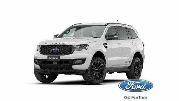 2020 Ford Everest Sport UA II MY21.25 Arctic White