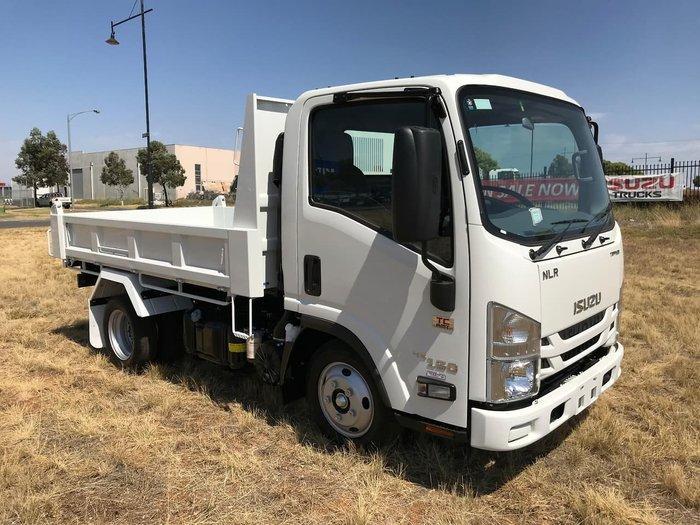 2021 Isuzu NLR 45-150 MANUAL TIPPER WHITE