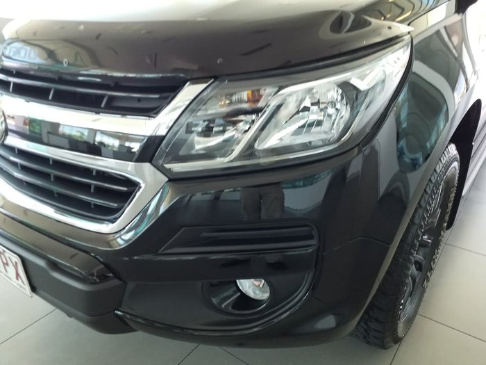 2019 Holden Colorado Z71 RG MY20 4X4 Dual Range Black