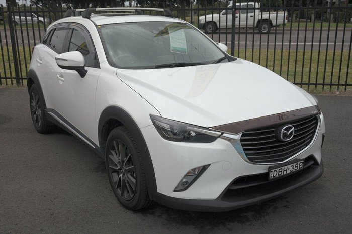 2015 Mazda CX-3 Akari DK 4X4 On Demand White