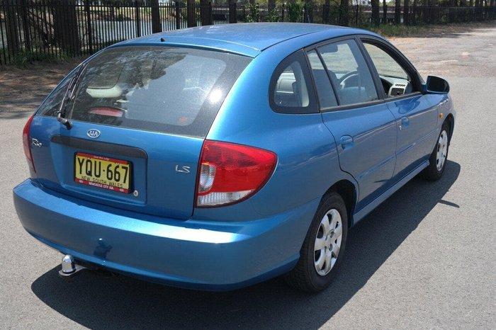 2003 Kia Rio LS MY03 Blue