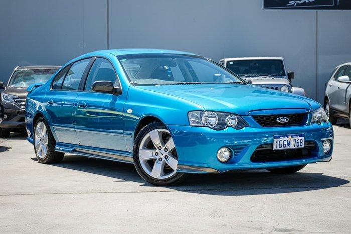 2008 Ford Falcon XR6 BF Mk II Blue