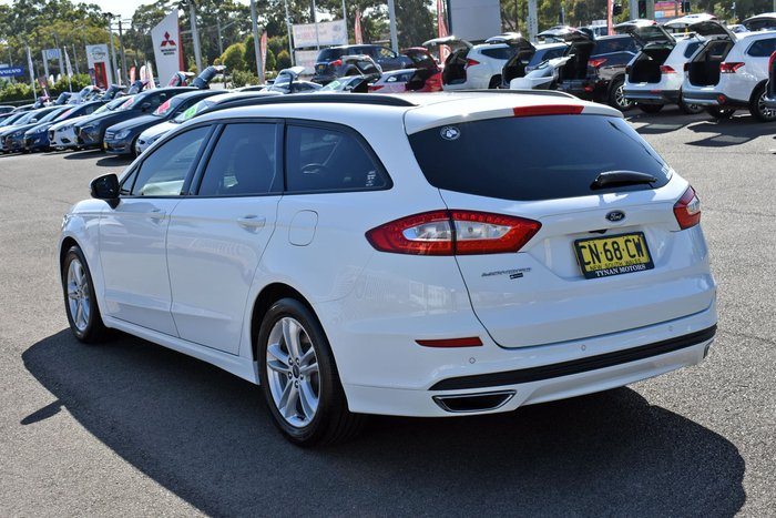 2017 Ford Mondeo Ambiente MD MY17.5 Frozen White