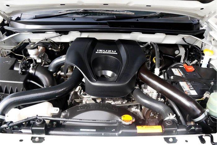 2016 Isuzu D-MAX SX High Ride MY17 White
