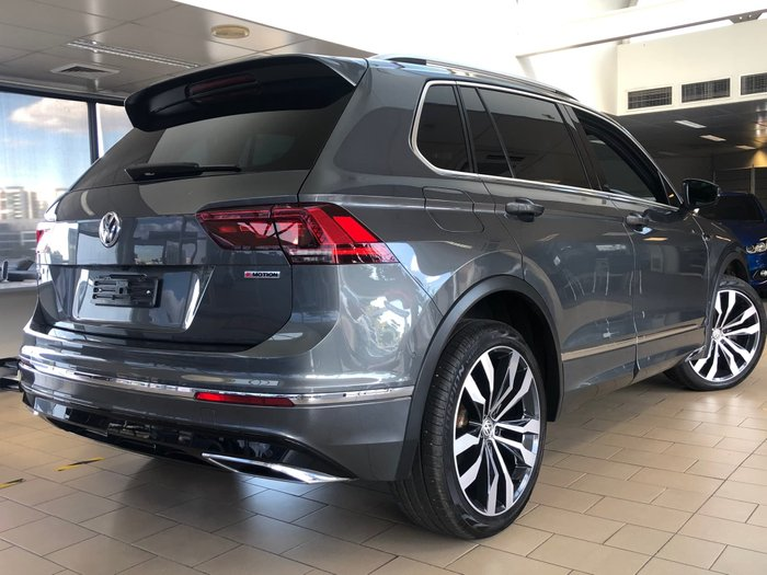 2018 Volkswagen Tiguan 162TSI Highline 5N MY19 Four Wheel Drive Indium Grey