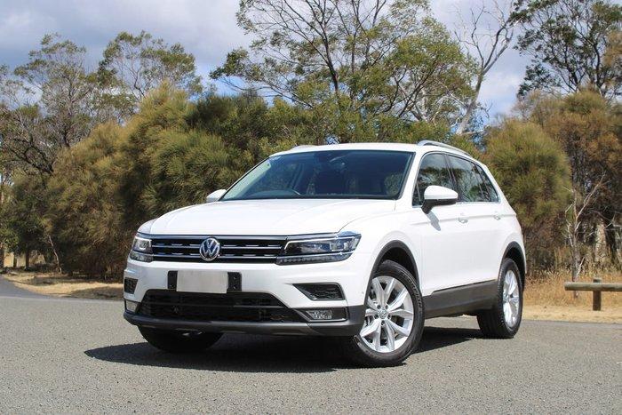 2019 Volkswagen Tiguan 132TSI Comfortline 5N MY20 Four Wheel Drive White