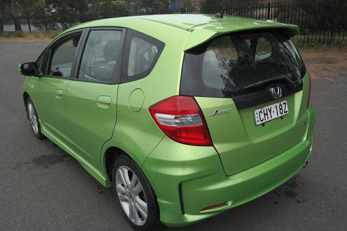 2012 Honda Jazz VTi GE MY12 Green