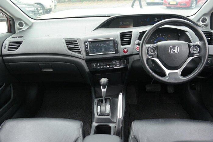 2014 Honda Civic VTi 9th Gen Ser II MY13 Red
