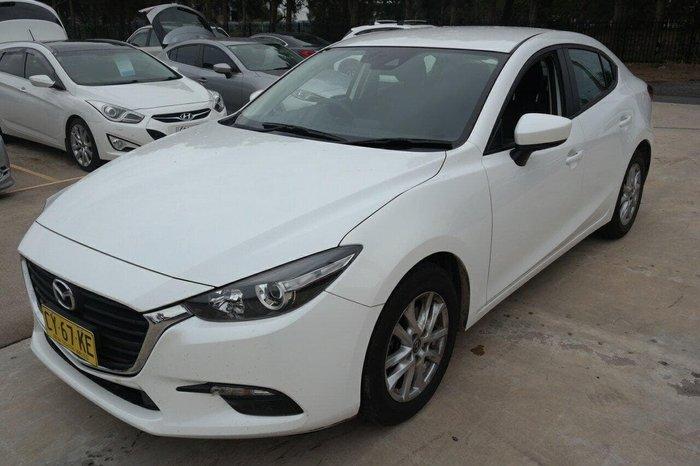 2016 Mazda 3 Neo BM Series White