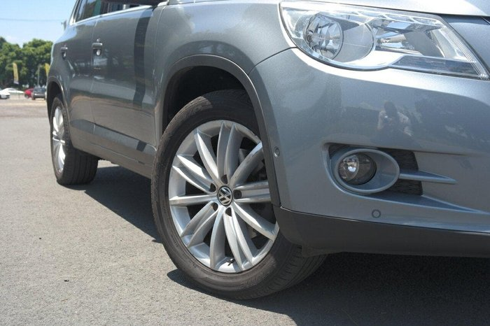 2010 Volkswagen Tiguan 147TSI 5N MY10 Four Wheel Drive Grey