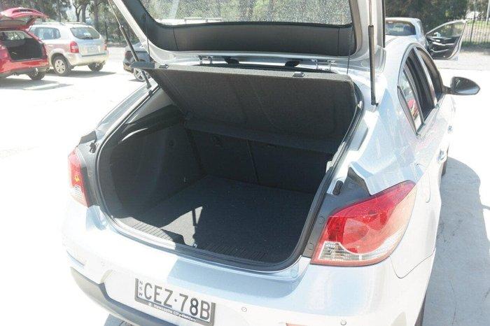 2012 Holden Cruze SRi JH Series II MY12 Silver