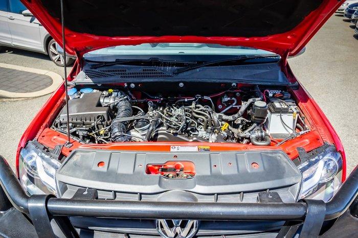 2017 Volkswagen Amarok TDI420 Core 2H MY17 4X4 Constant Red