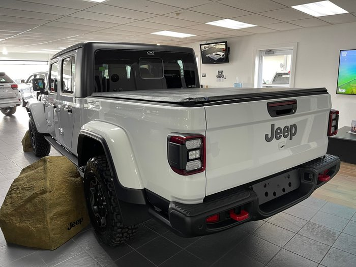 2020 Jeep Gladiator Rubicon JT MY20 Bright White