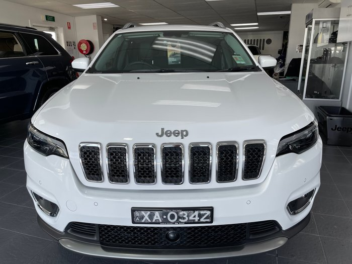 2019 Jeep Cherokee Limited KL MY19 4X4 On Demand Bright White