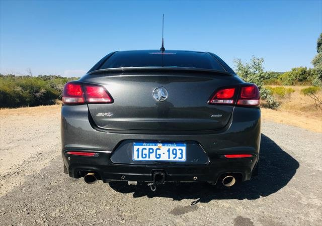 2017 Holden Commodore SV6 VF Series II MY17 CHARCOAL