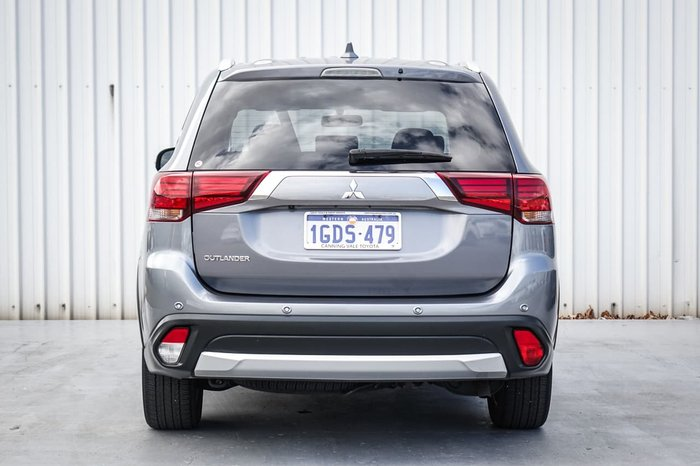 2016 Mitsubishi Outlander LS Safety Pack ZK MY17 Silver