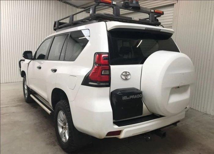 2018 Toyota Landcruiser Prado GX GDJ150R 4X4 Dual Range White