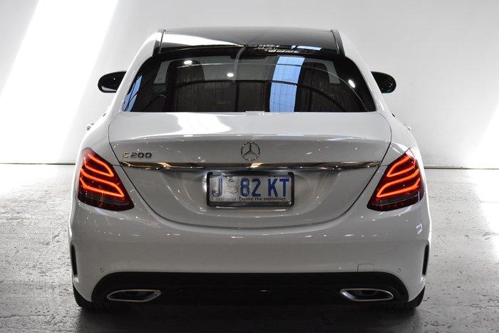 2017 Mercedes-Benz C-Class C200 W205 White