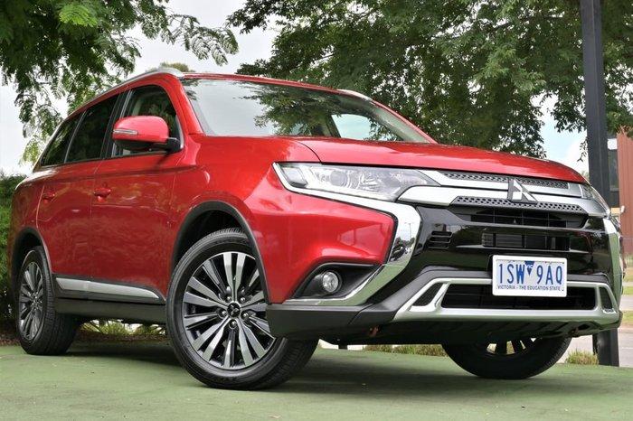 2020 Mitsubishi Outlander LS ZL MY21 Red