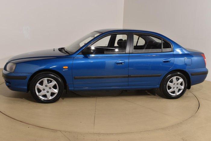 2004 Hyundai Elantra XD MY04 Blue