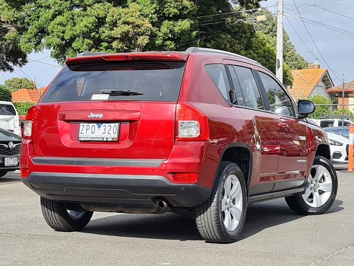 2012 Jeep Compass Sport MK MY12 Red