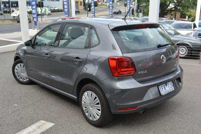 2017 Volkswagen Polo 66TSI Trendline 6R MY17 Pepper Grey