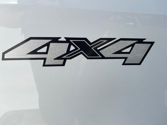 2013 Holden Colorado LTZ RG MY14 4X4 Dual Range Summit White
