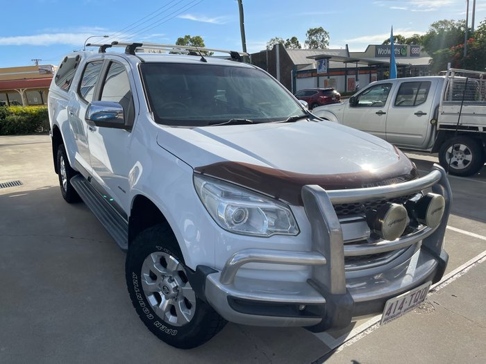 2013 Holden Colorado LTZ RG MY14 4X4 Dual Range Summit White