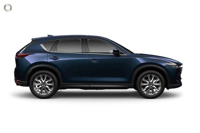 2020 Mazda CX-5 Akera KF Series 4X4 On Demand Deep Crystal Blue