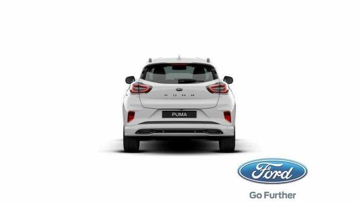 2020 Ford Puma ST-Line V JK MY20.75 Frozen White