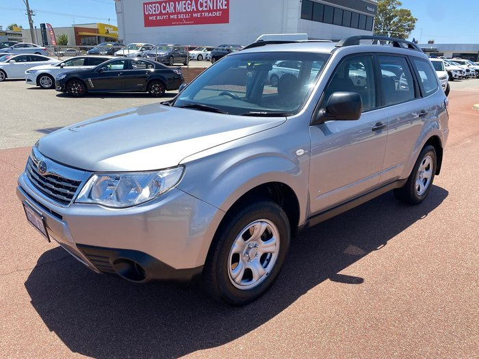 2009 Subaru Forester X S3 MY09 Four Wheel Drive Silver