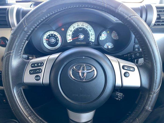 2012 Toyota FJ Cruiser GSJ15R 4X4 Dual Range Beige