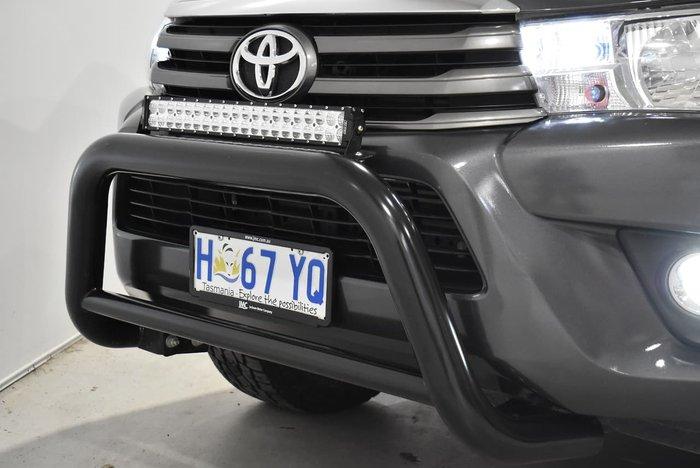 2015 Toyota Hilux SR GUN126R 4X4 Dual Range Graphite