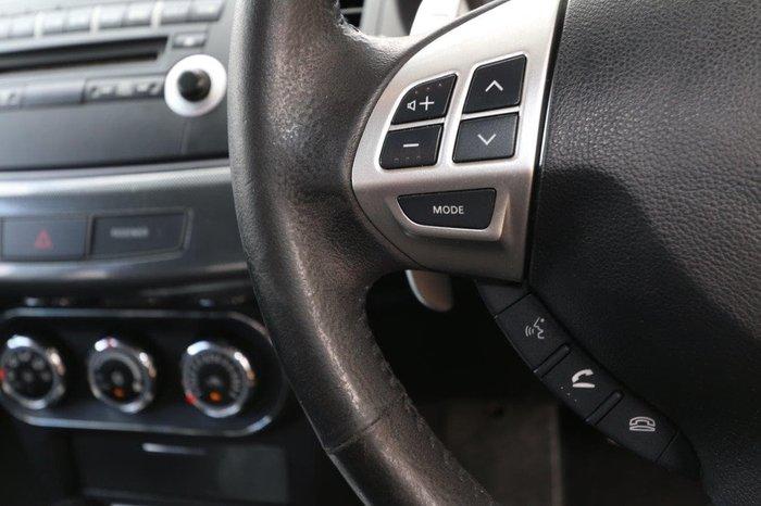 2011 Mitsubishi Lancer VR-X CJ MY12 Red