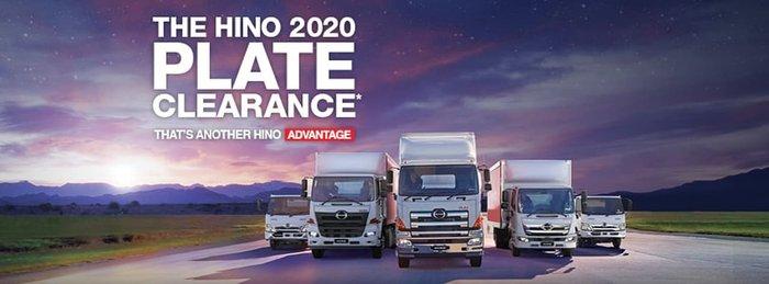 2020 HINO 500 SERIES FC 1124 White