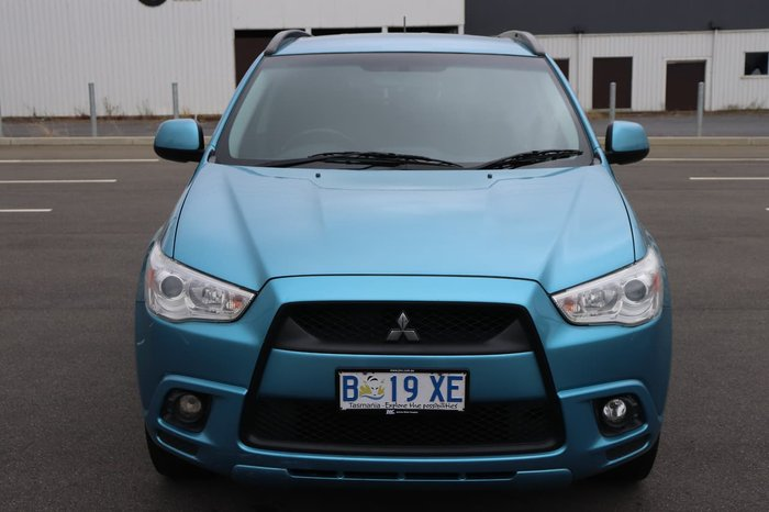 2010 Mitsubishi ASX XA MY11 Blue