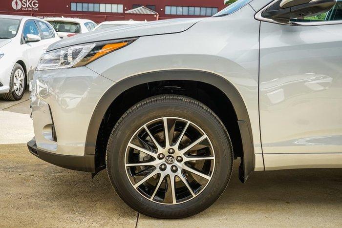 2019 Toyota Kluger Grande GSU55R Four Wheel Drive Silver