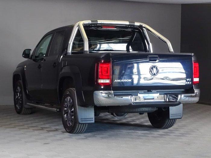2020 Volkswagen Amarok TDI580 Highline 2H MY20 4X4 Constant Black