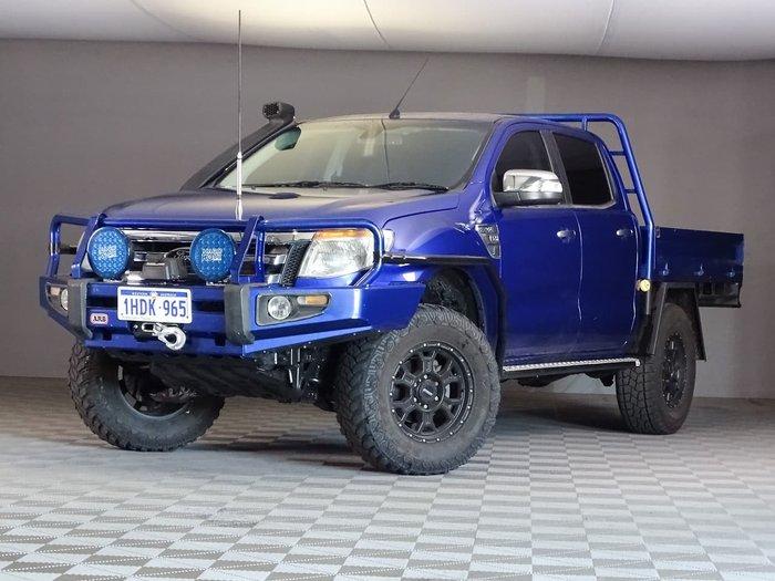 2012 Ford Ranger XLT PX 4X4 Dual Range Blue