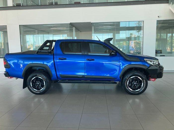 2018 Toyota Hilux Rugged X GUN126R 4X4 Dual Range Blue