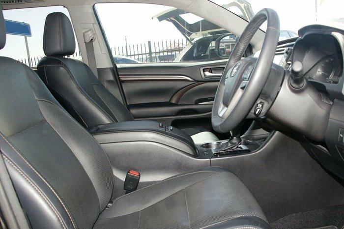 2016 Toyota Kluger Grande GSU55R Four Wheel Drive BLACK