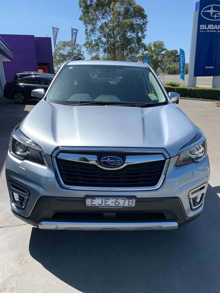 2020 Subaru Forester Hybrid S S5 MY20 Four Wheel Drive Ice Silver