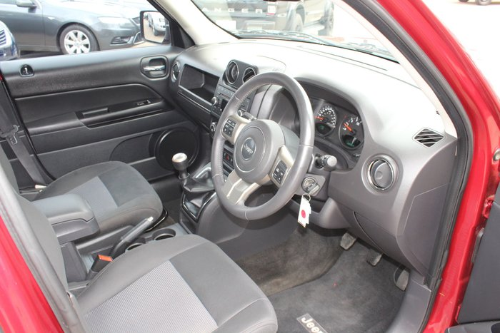 2012 Jeep Patriot Sport MK MY12 Red