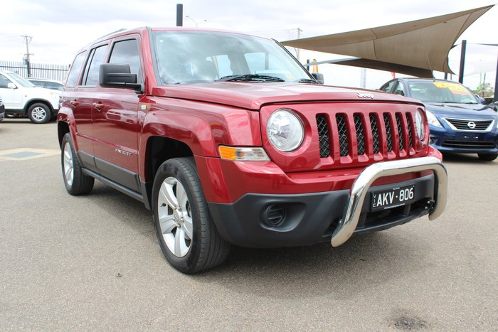 2012 Jeep Patriot Sport MK MY12 Red