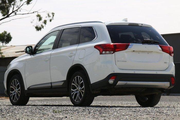 2018 Mitsubishi Outlander LS ZL MY18.5 4X4 On Demand White